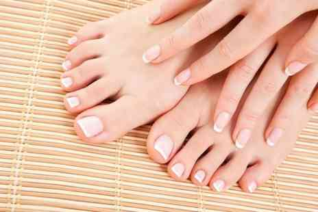 Bronzed & Beautiful - Gel Manicure or Pedicure  - Save 51%