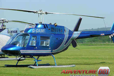 Adventure Events 001 - 6 Mile Buzz Helicopter Flight - Save 49%