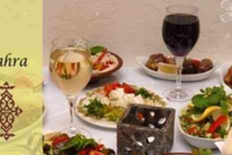 Sahra Restaurant - Three Course Lebanese Meal For Two - Save 53%