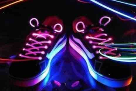 Savvy Mummys - Pair of Flashing LED Shoe Laces   - Save 62%