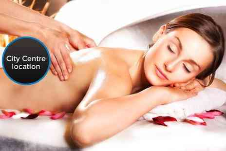 The Harbour Club - Massage package including a half body massage mini facial - Save 52%