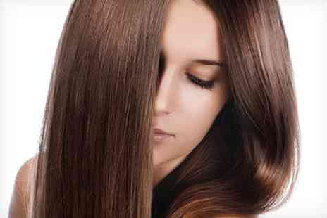 Runway Hair and Beauty - Cut Blow Dry and Hot Oil Treatment - Save 66%