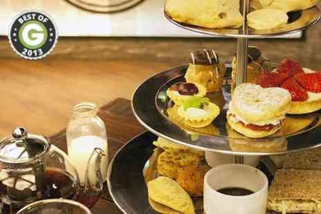 Chaiholics - Chai Afternoon Tea For Two  - Save 50%
