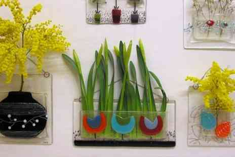 Inlight Contemporary Glass Fusion - Glass Fusion Wall Vase Workshop - Save 61%