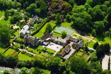 Bickleigh Castle Hotel - Two Nights For Two With Breakfast  - Save 50%