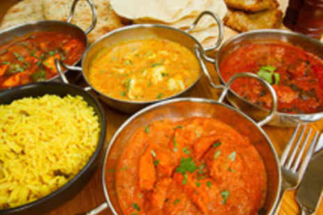 Le Spice Merchant - Two Course Indian Dining for Two with Rice and Naan - Save 63%