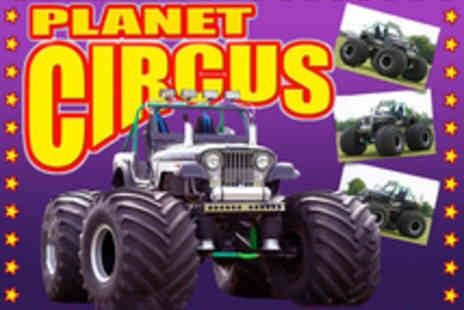 Planet Circus - Choice of Tickets to Planet Circus - Save 63%