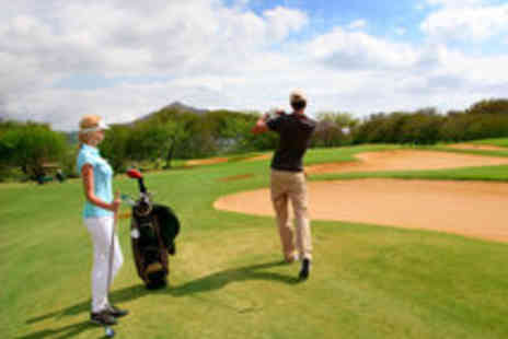 Castle Golf Range - Two Hour Golf Lesson with Trackman Analysis For One - Save 69%