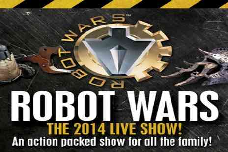 Roaming Robots - Robot Wars Live Get your Ticket for the Portsmouth show - Save 38%