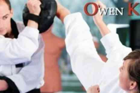 Nottingham School of Blackbelts - One Hour Private Lesson With World Champion Kickboxer Owen King - Save 72%