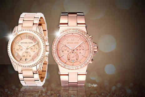 Castile Jewellery - Michael Kors ladies watch in a choice of 2 styles - Save 31%