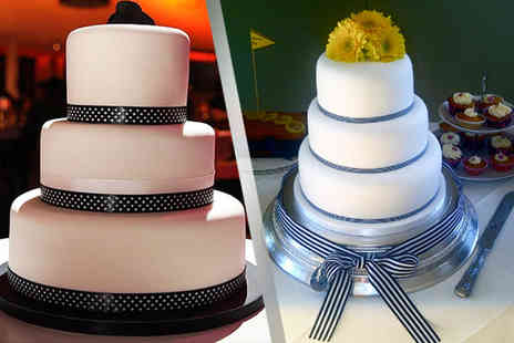 Lily Ireland Cakes - Two tier wedding cake - Save 60%