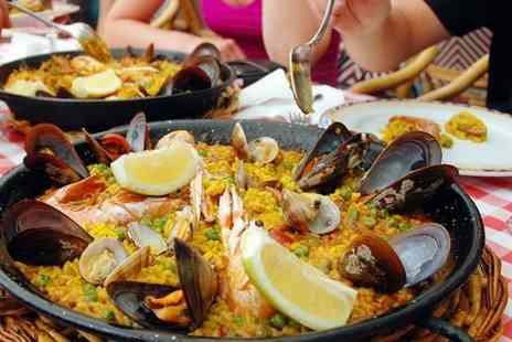 Bazil Brasserie - Paella and Crusty Bread For Two  - Save 60%