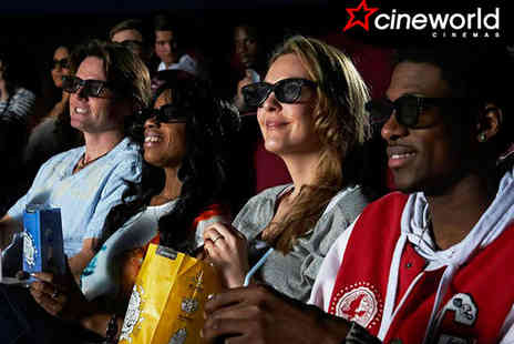 Cineworld - Two 3D Cinema Tickets - Save 37%