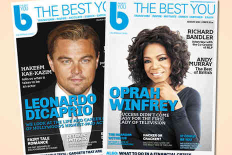 The Best You Magazine - 12 Month Subscription to The Best You Magazine - Save 64%
