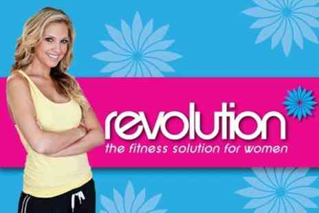 Revolution - One Month Gym Membership and Four Vibroplate Sessions for £15 - Save 72%