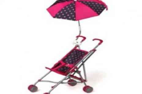 Savvy Mummys - Toy buggy with parasol - Save 56%