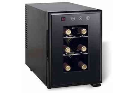 To Your Home  - 6  or 12 Bottle Wine Cooler - Save 33%