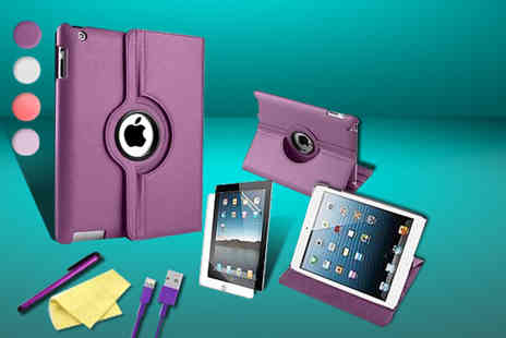 Mixture Store - IPad 360 degree case bundle for the iPad 2 - Save 70%