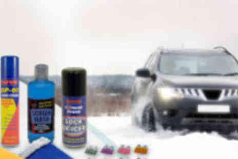4 Home Furnishing - Winter essentials car care kit - Save 73%