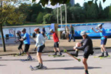Rollerski  - Get active whilst having fun with this two-hour Rollerski session - Save 55%