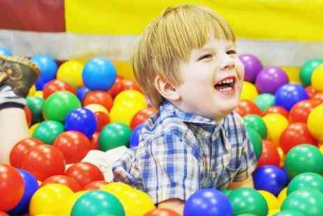 Funsters Childrens Play - Entry to soft play activity centre for two - Save 48%