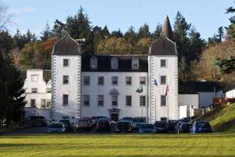 Mercure Barony Castle Hotel - Scottish Borders Stay For Two - Save 45%