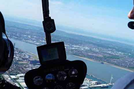 Helicentre - 20 Minute Liverpool Helicopter Tour - Save 51%
