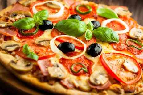 Bella Nola - Pizza or Pasta With Ice Cream For Two - Save 58%