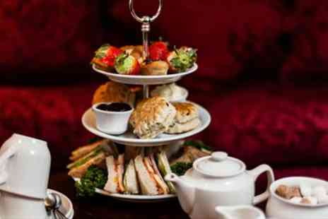 The Academy - Afternoon Tea for Two with Bubbly in Bloomsbury Townhouse - Save 43%