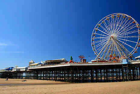 The Melville Hotel -  Enjoy a 2 night stay for two Includes breakfast each morning in Blackpool - Save 61%