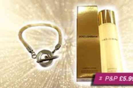 Russian Ice -  D&G clarifying lotion & gold toggle bracelet - Save 80%