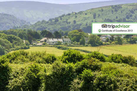 The Old Station Inn - One night Somerset break for 2 including a bottle of wine - Save 58%