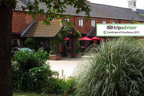 The Olde Barn Hotel - Two night stay for 2 including breakfast - Save 54%