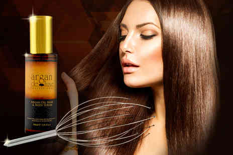 HKH Technology - 100ml Argan hair oil and head massager - Save 68%