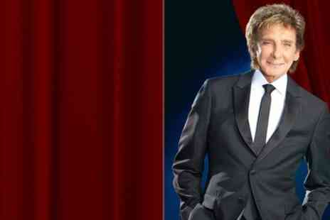 Barry Manilow at Wembley - Barry Manilow One or Two Tickets - Save 40%