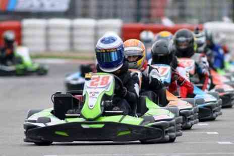 Buckmore Park Karting - 30 Minutes Lap Time  - Save 50%
