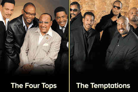 The Four Tops and Temptations - Ticket to The Four Tops and The Temptations Plus The Platters and Freda Payne - Save 18%
