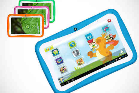 Qualite - Junior Android Tablet in Choice of Colours - Save 67%