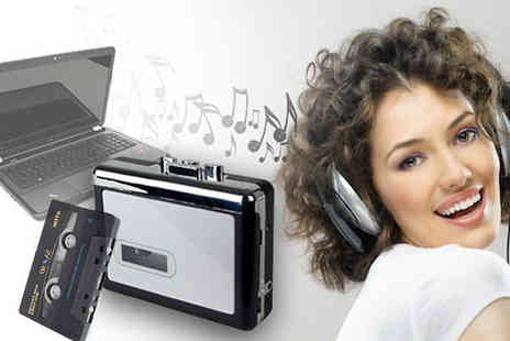 Genee Wenee -  Cassette to MP3 converter - Save 75%