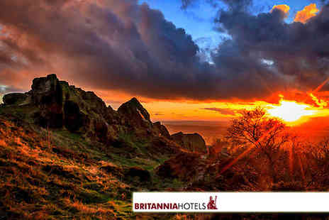 Britannia Hotels -  One night stay for two with breakfast with the option of a spa treatment in Cheshire - Save 50%