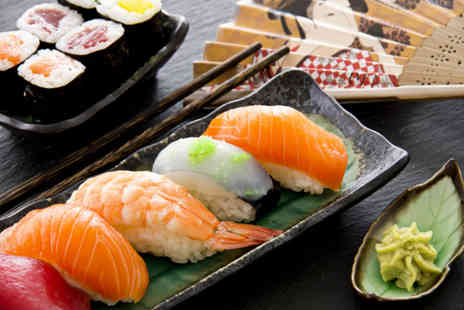 Yazu Sushi - Sushi meal for 2 including 10 dishes to share and a drink - Save 62%
