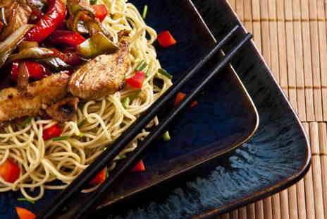 The Orchid Restaurant - Twocourse Chinese meal for 2 including starter main rice  - Save 55%