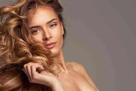 Stone - Cut and Blow Dry With Colour or Highlights - Save 50%