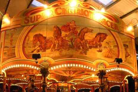 Dingles Fairground Heritage - Entry for two adults or a family of six - Save 50%