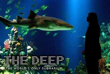 The Deep - Family Ticket to The World�s Only Submarium for £11 - Save 62%