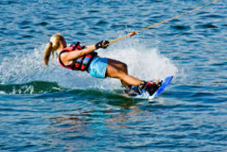 Wake MK - Wakeboarding, Waterskiing or Kneeboarding Lesson for One Person - Save 41%