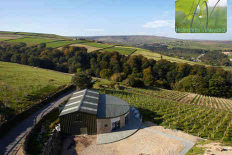 Holmfirth Vineyard - Vineyard Tour and Wine Tasting with Sparkling Brunch for Two - Save 50%