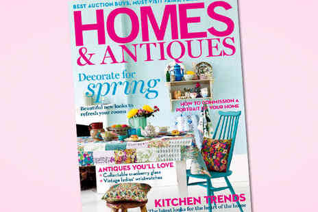 Homes & Antiques - 12 Month magazine Subscription - Save 56%