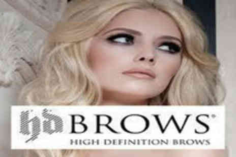 Two Touch Beauty - Eyelash Extensions with HD Brows - Save 33%